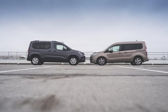 Peugeot Rifter Allure 1.5 D 130 KM MT6 vs. Ford Turneo Connect Titanium 1.5 D 120 KM AT8