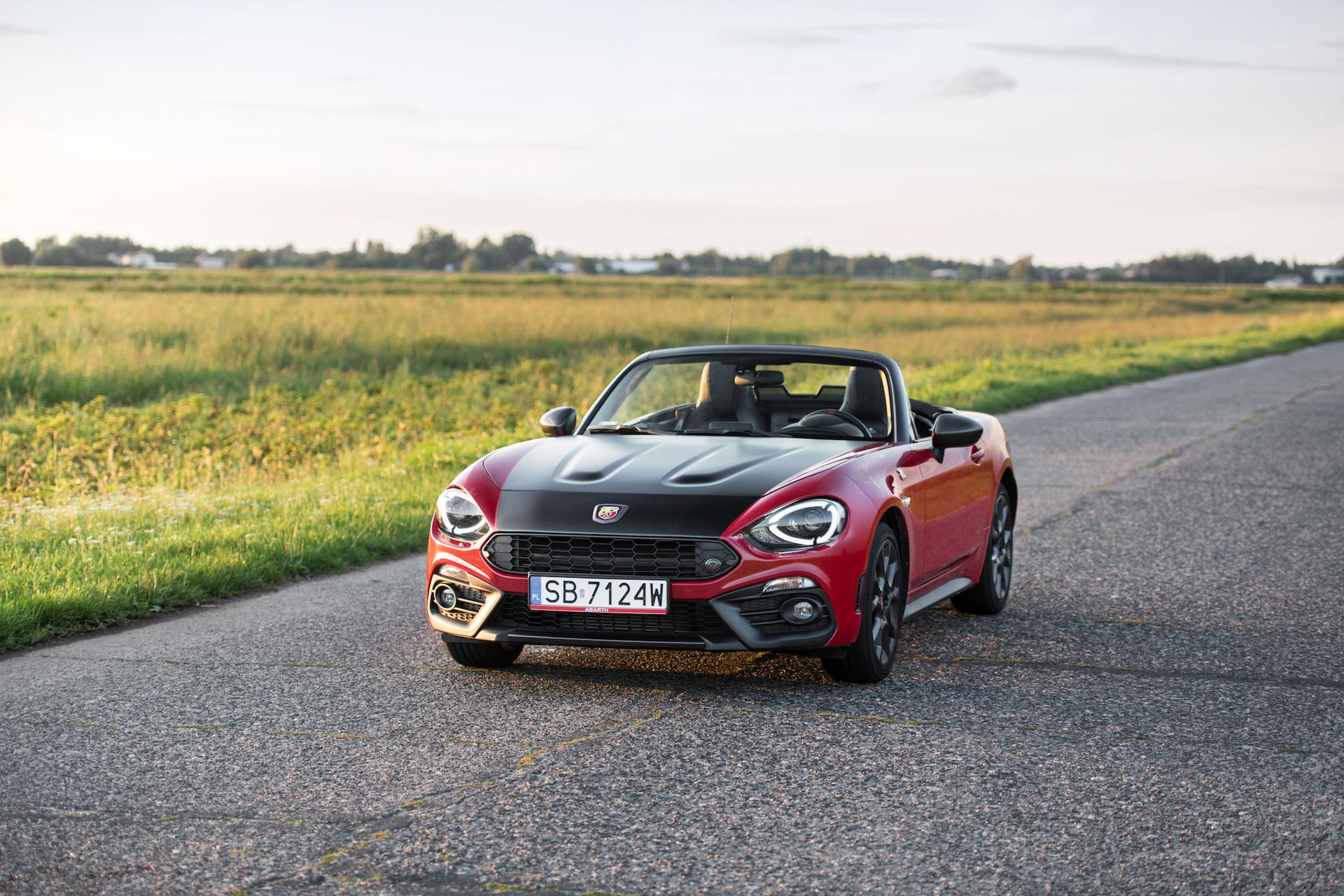 Abarth 124 Spider 1.4 T-Jet 170 KM 6MT
