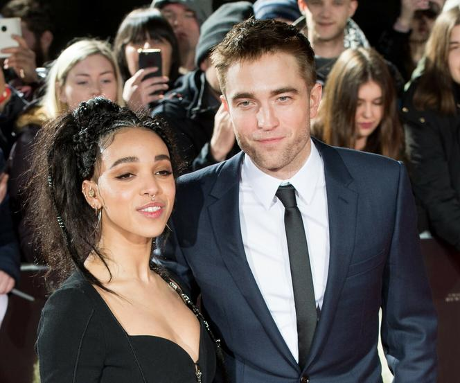 FKA twigs i Robert Pattinson