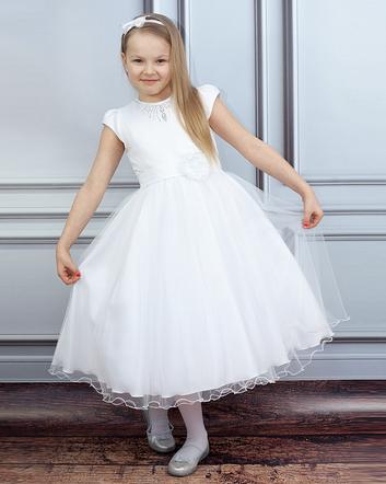 972fd9755a Sukienki na komunię dla dziewczynek - najładniejsze sukienki ...