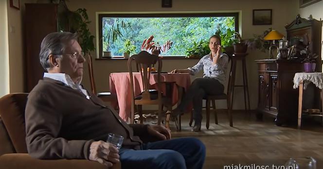 M jak miłość: Ola (Magdalena Rembacz), Józef Modry (Stefan Friedmann)