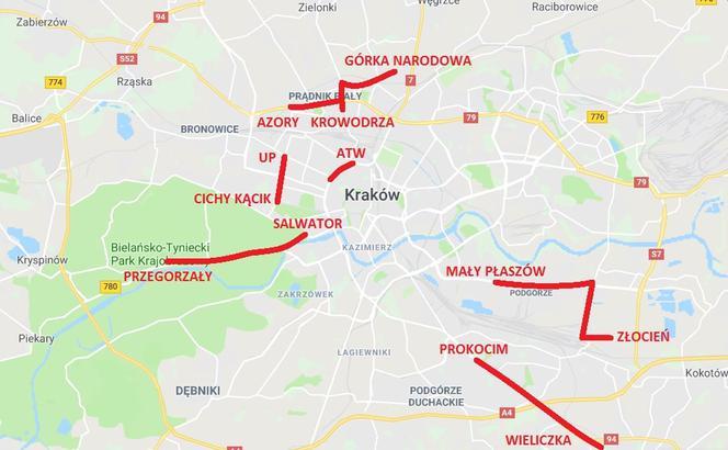 Krakow Wysyp Pomyslow Na Nowe Linie Tramwajowe Zlocien