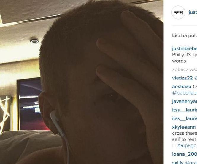 Justin Bieber Co Oznacza Tatuaż Na Twarzy Justina Biebera
