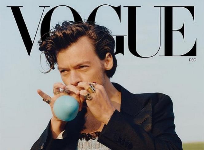 Harry Styles w Vogue