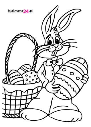 Kolorowanki Wielkanocne Do Wydruku Dla Dzieci Mjakmama Pl