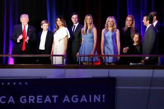 53551acdc6a1f DONALD TRUMP - RODZINA. Kim są żona nowego prezydenta USA i jego ...