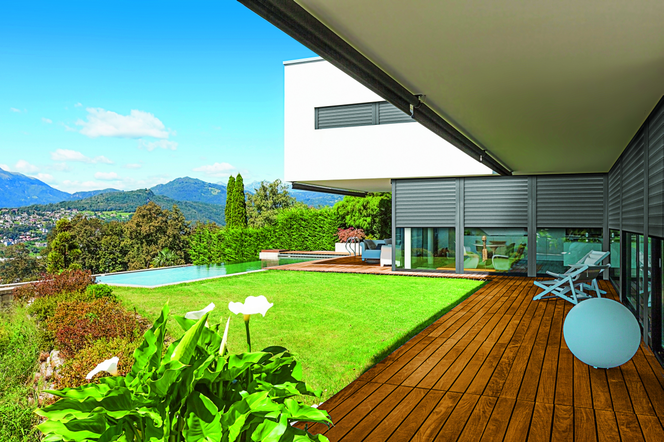 Osłony Przeciwsłoneczne Ochrona Wnętrza Domu Przed