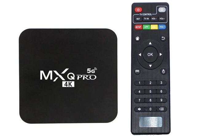 Smart TV Box MXQ Pro 4K