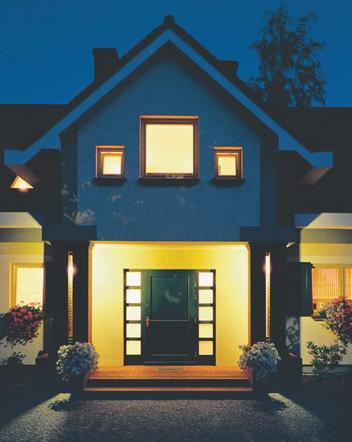 Oświetlenie Zewnętrzne Domu Oprawy Oświetleniowe I