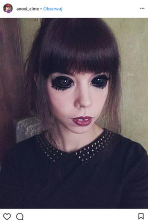 Popek Fanka Z Tatuażem Oczu Straciła Wzrok I Czucie W