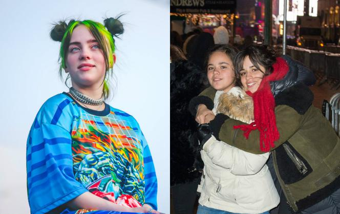 Billie Eilish, Camila Cabello z siostrą