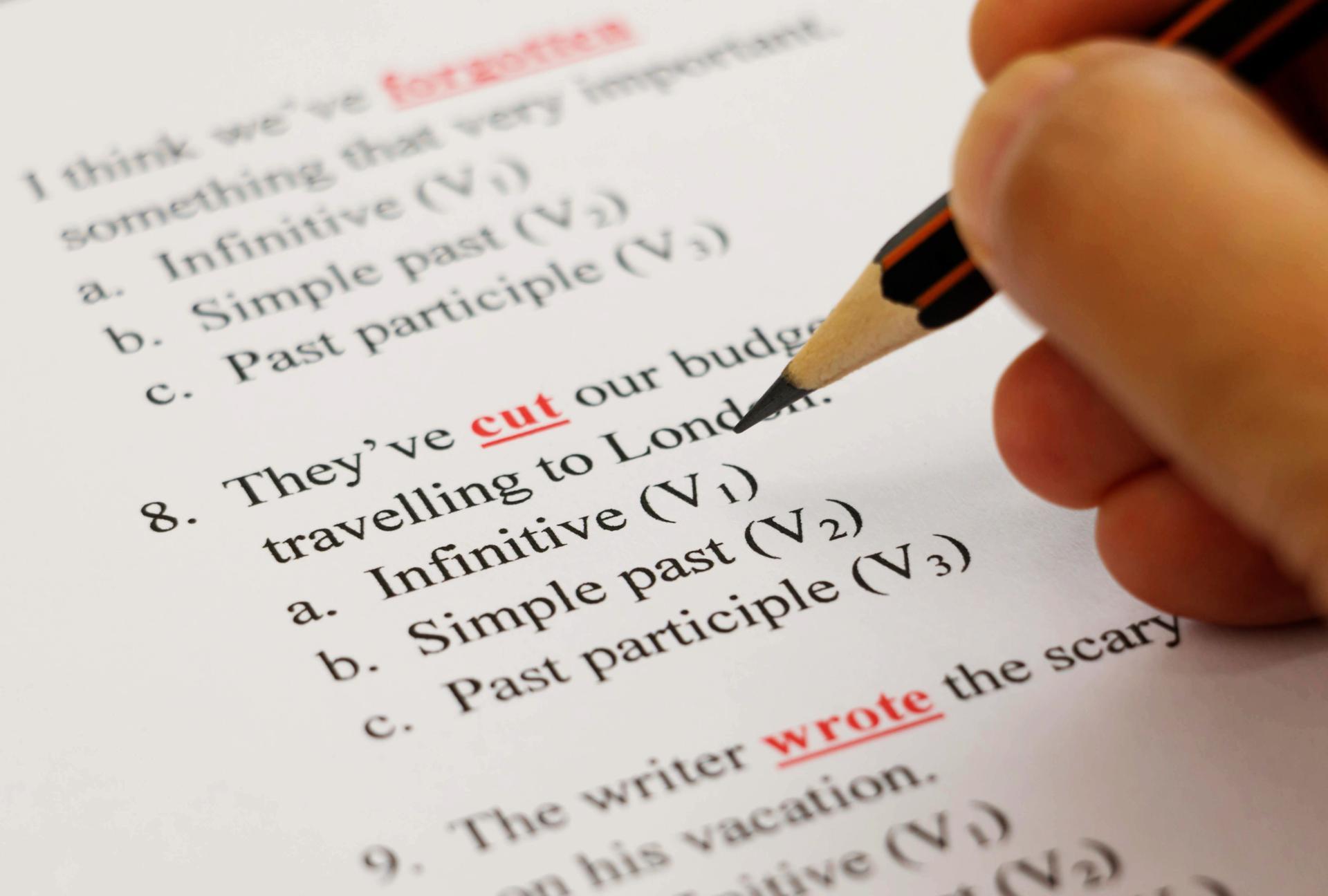 egzamin b2 angielski gramatyka