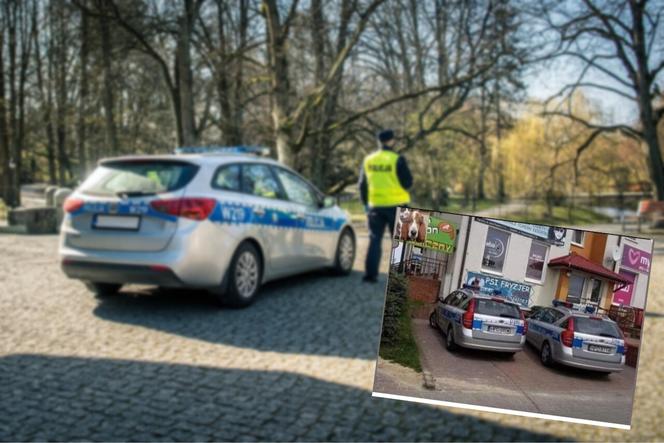 Polska Policja parkuje przed psim fryzjerem. Wpis na Facebooku jest hitem w sieci!
