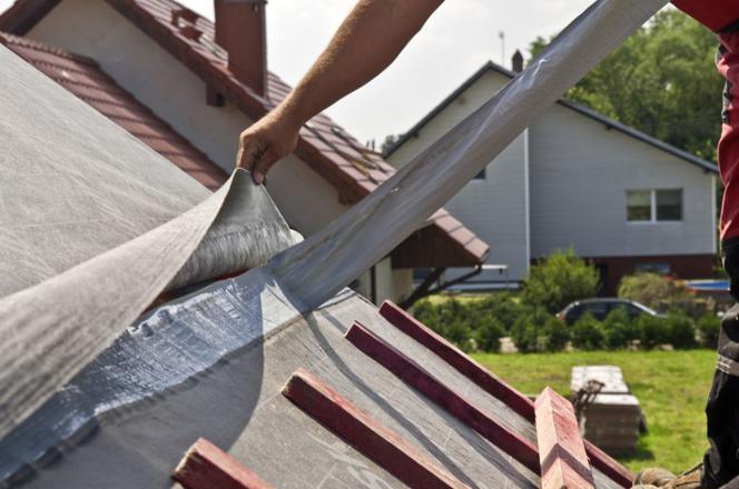 Folia I Membrana Na Dach Montaż Membrany Dachowej