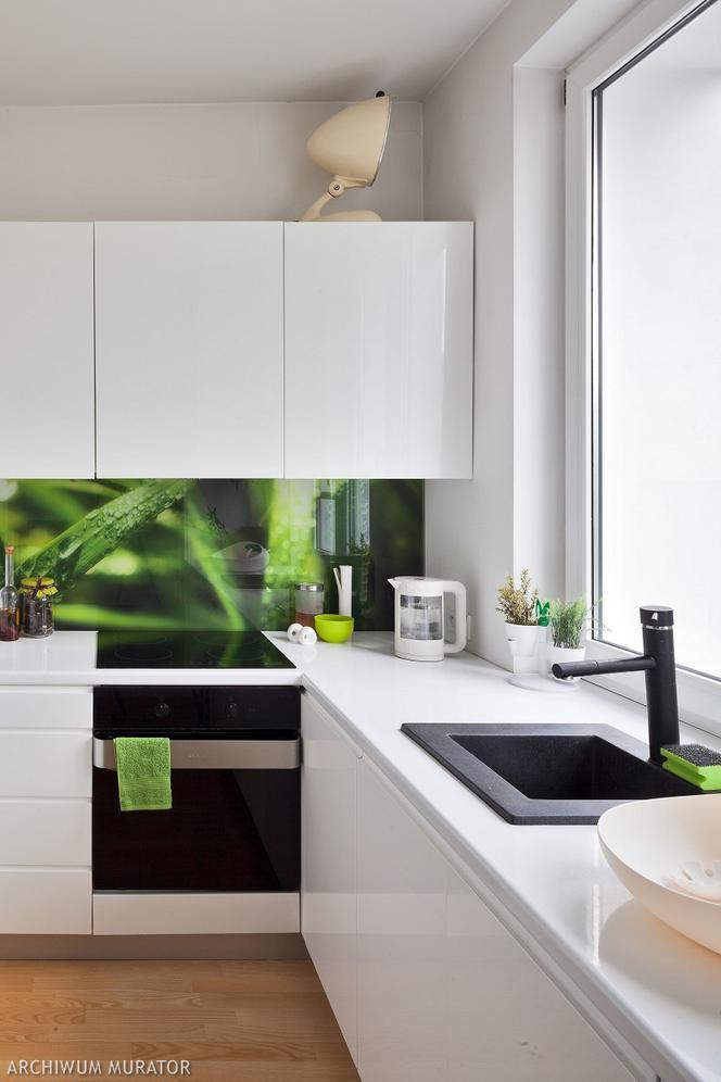 Fototapeta W Kuchni Jak Stosować Fototapety Na ścianie I Meblach