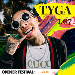 Tyga zamyka line-up Open'er 2017