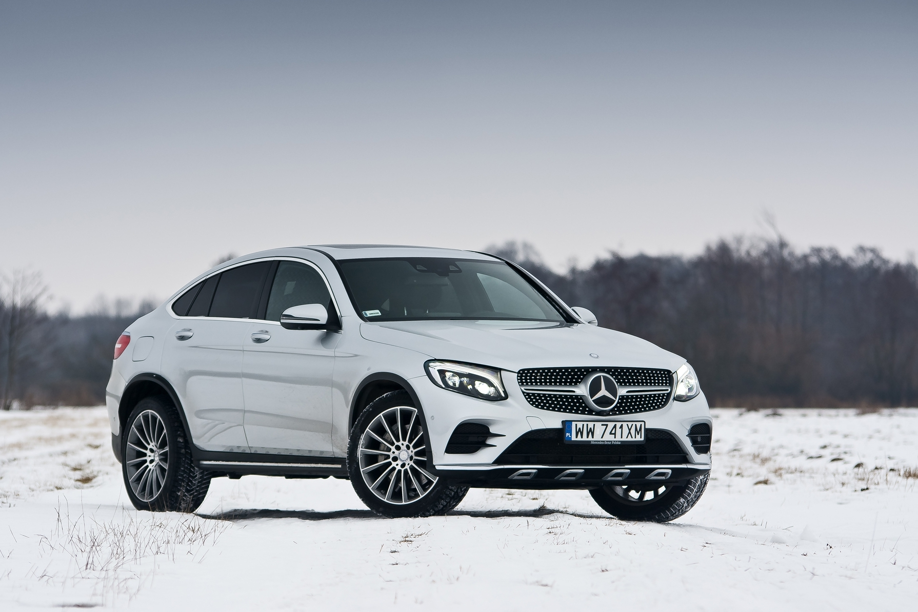 TEST Mercedes Benz GLC Coupe 250d 4MATIC 9G Tronic usportowiony SUV Super Express