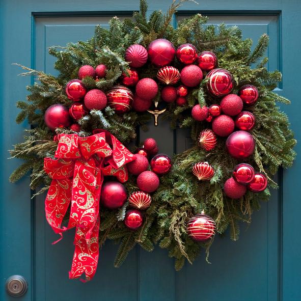Wianek Bożonarodzeniowy Na Drzwi. Jak Zrobić Samodzielnie