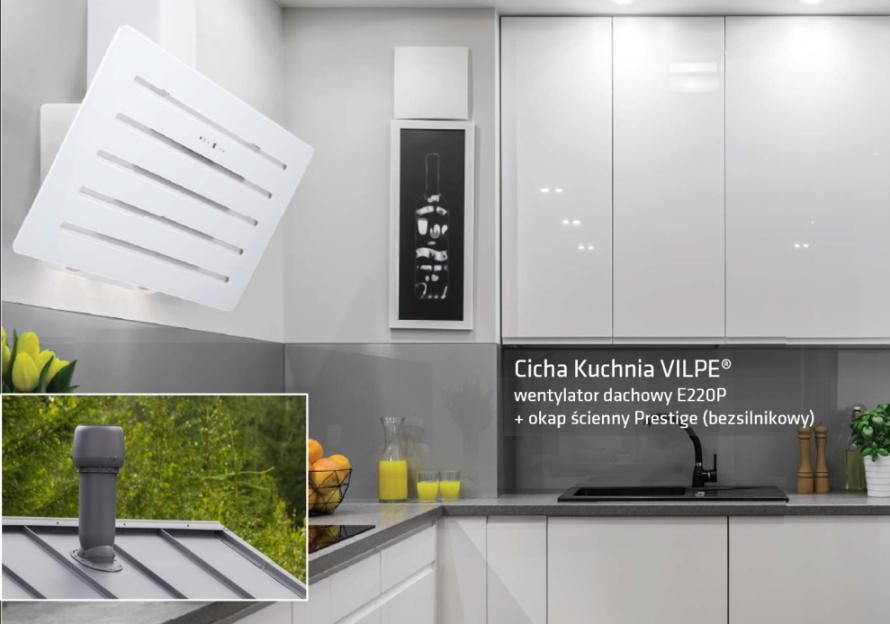 skuteczny system wentylacji kuchni bez g�ośnej pracy