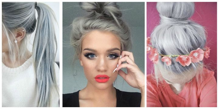 Siwe Włosy To Hit 2015 Roku Czy Takie Fryzury Będą Modne W