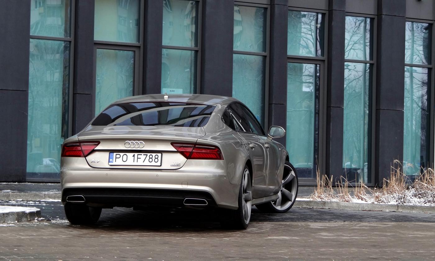 Dlaczego Premium Tyle Kosztuje Test Na Przykładzie Audi A7