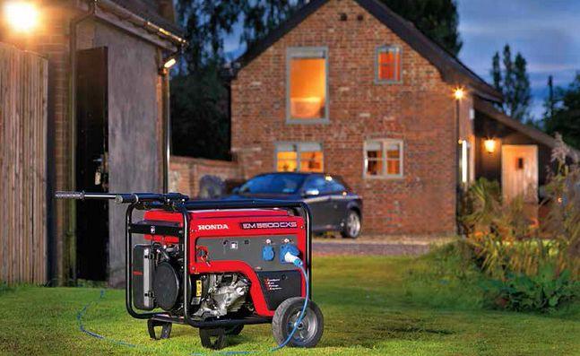 Młodzieńczy Wybieramy agregat prądotwórczy do domu: generator prądu OQ32