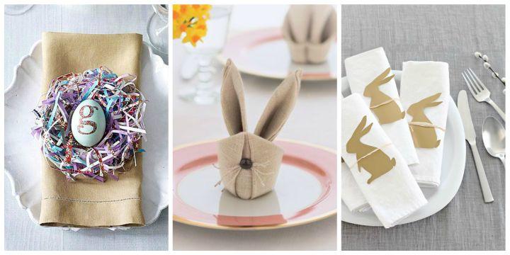 Pomysły Na Wielkanocne Dekoracje Stołu Zobacz Jak