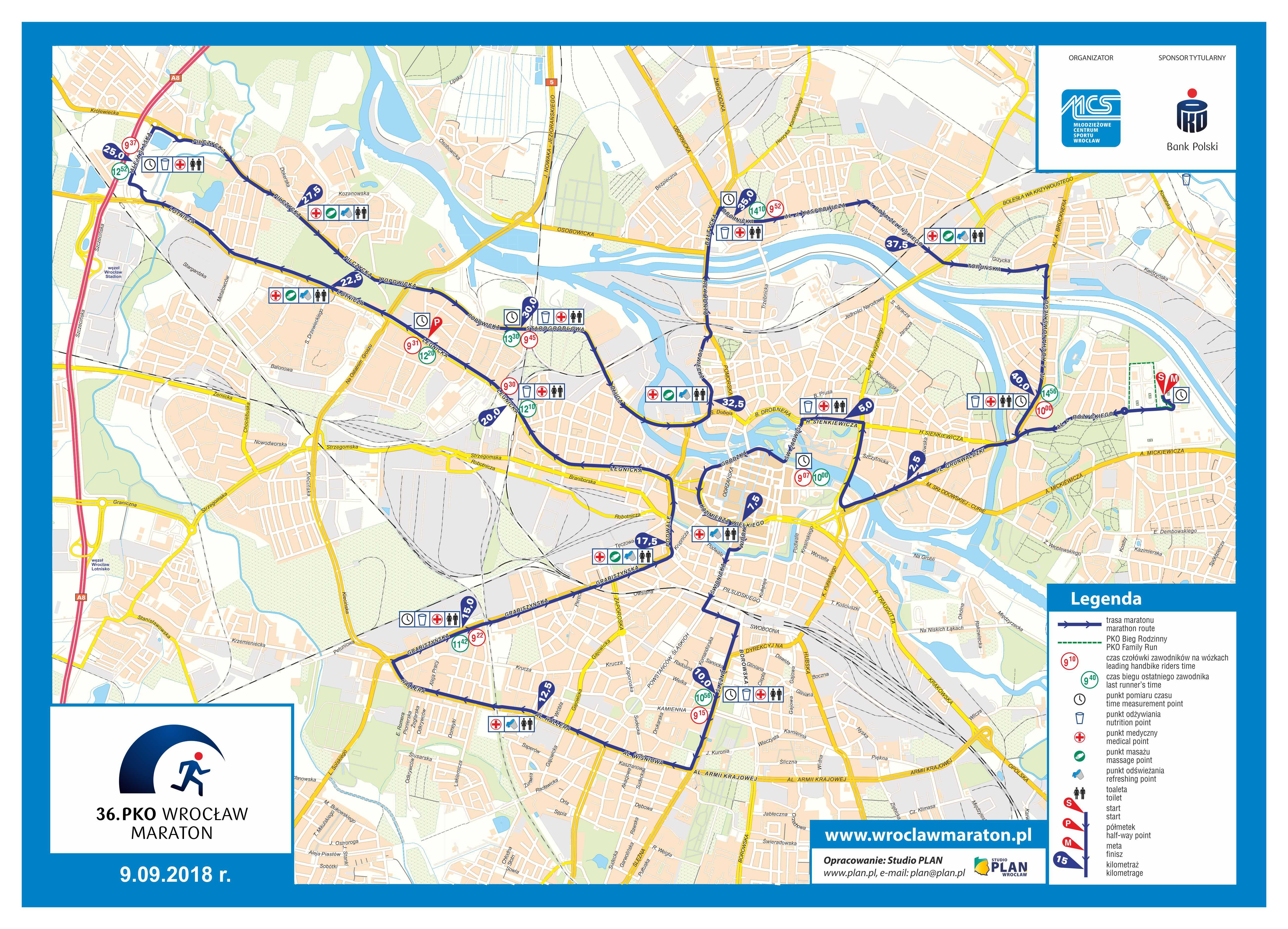 36 Pko Wroclaw Maraton Uwaga Na Utrudnienia Zamkniete Ulice