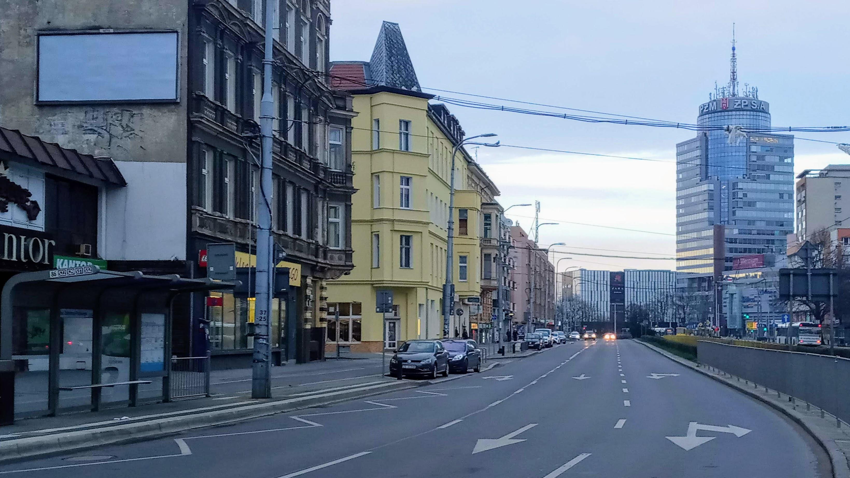 Koronawirus Uspil Szczecin Mniej Samochodow Na Ulicach Centrum