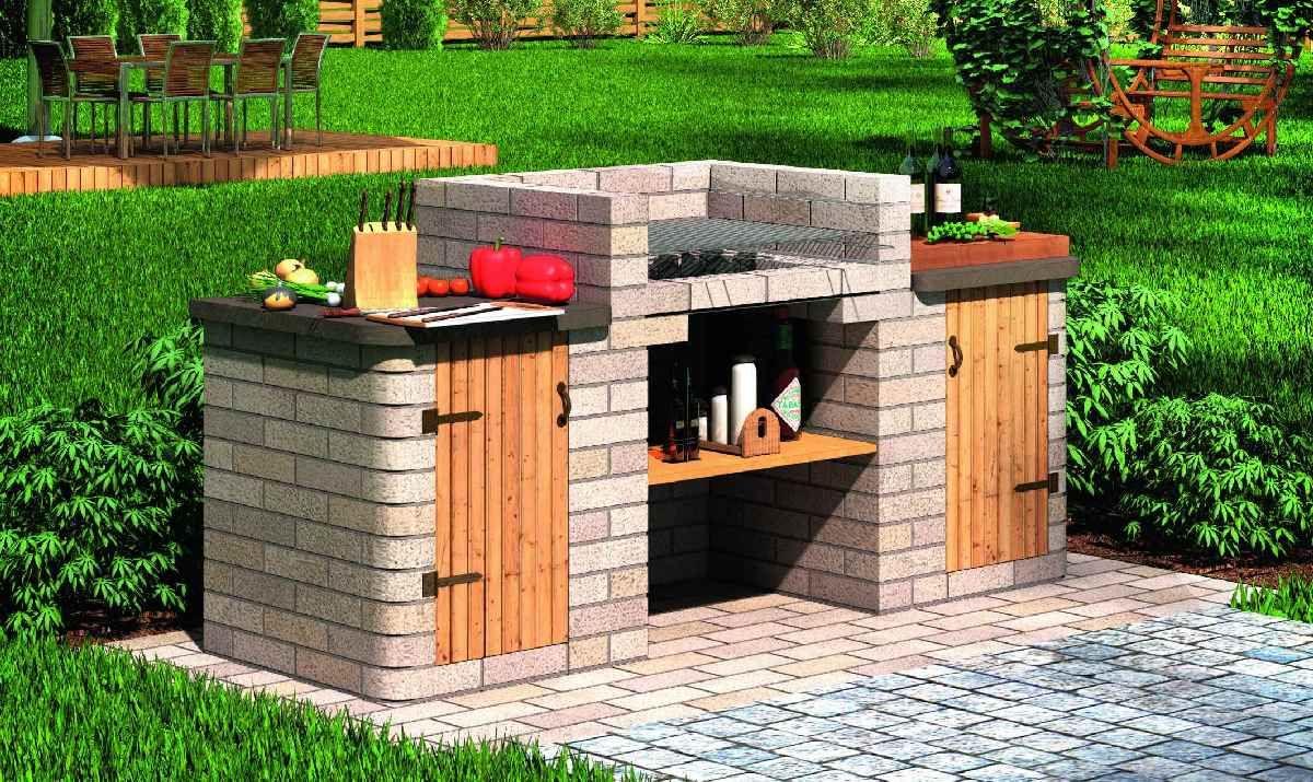 Niesamowite Grill ogrodowy. Jak zbudować grill z cegieł lub kamienia w OK26